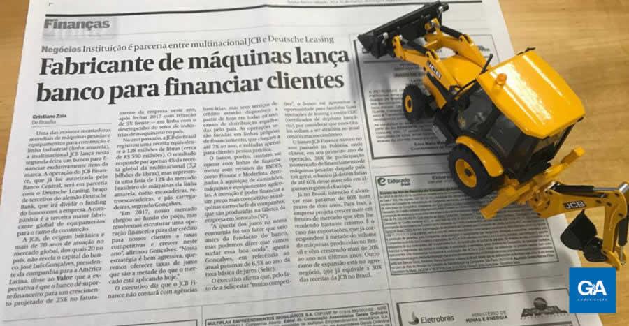 JCB Finance é destaque na imprensa