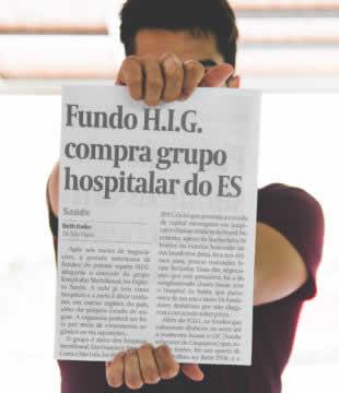 Aquisição de grupo hospitalar pela H.I.G. Brasil ganha ênfase no Valor Econômico