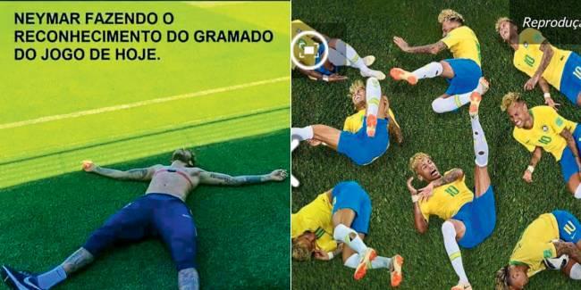 memes do Neymar - memes na estratégia de comunicação