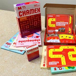 Press kit criativo marca ação de volta às aulas de Chamex